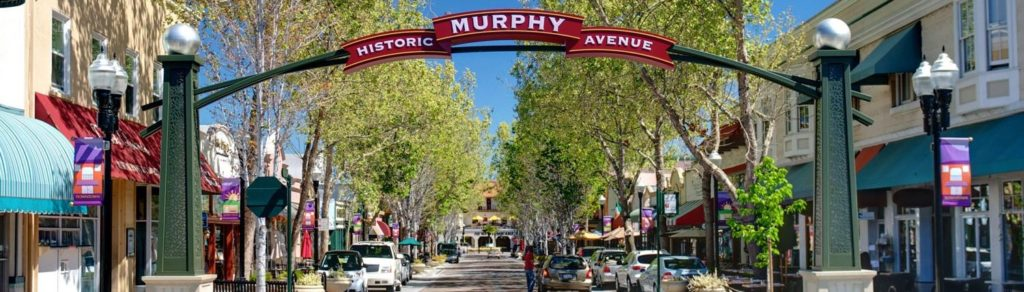 Murphy Street in downtown Sunnyvale