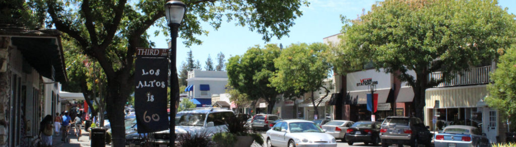 Main Street in downtown Los Altos