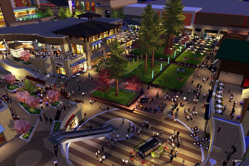 Redwood Plaza in Sunnyvale Town Center