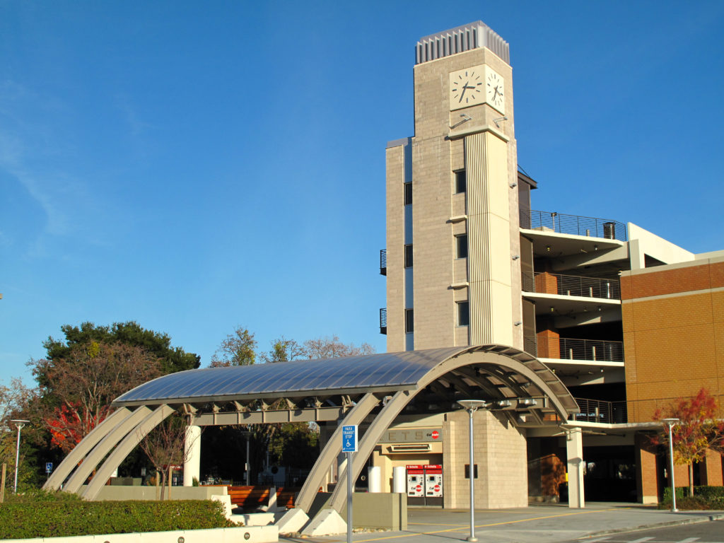 Sunnyvale CalTrain station