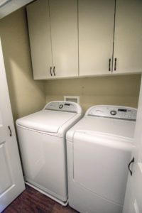 Sunnyvale bungalow indoor laundry