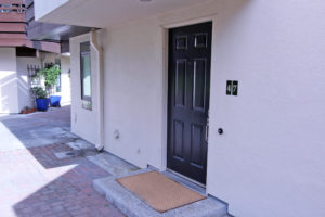 Mountain View Townhome for Sale - front entry