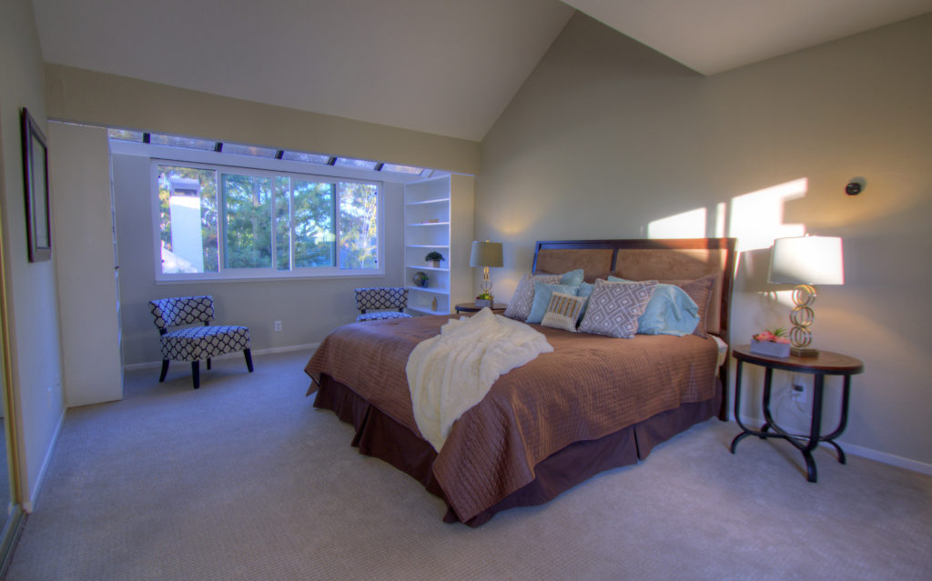 Mountain View Townhome for Sale - master bedroom