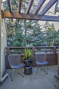 Mountain View Townhome for Sale - master patio